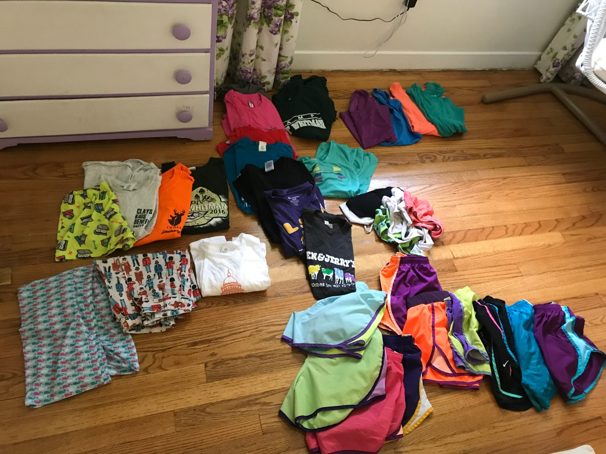 Summer Camp Staff, What to Pack?